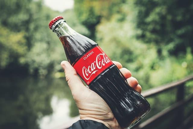 Coke Bottle of Soda