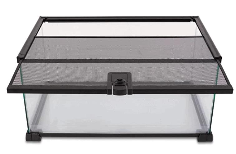 "REPTI ZOO Glass Natural Terrarium (20 x 12 x 10"")"